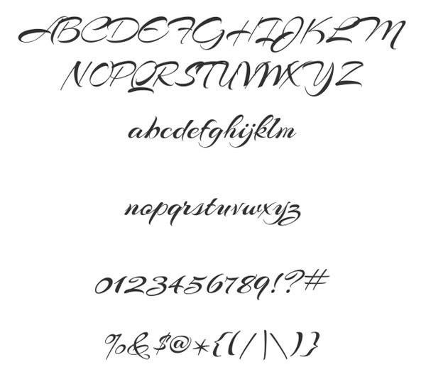 скачать красивые шрифты arizonia