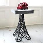 Французская тема в интерьере. Металлический столик Eiffel Tower