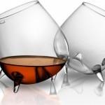 Стильные бокалы для коньяка