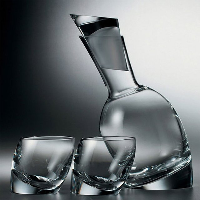 Nambé Tilt Decanter