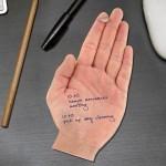 Необычные стикеры в виде ладошки Hand Sticky Notes от Fred&Friends