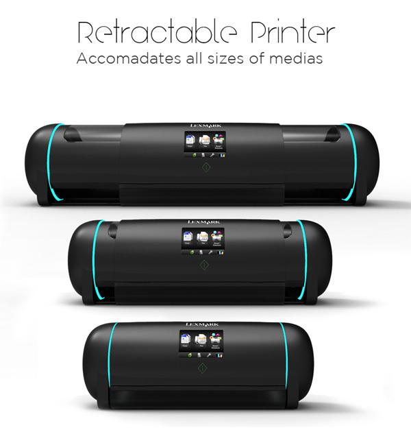 Стильный концепт принтера от филиппинского дизайнера Neilson Navarrete