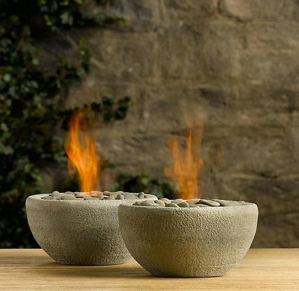 декоративные каменные чаши