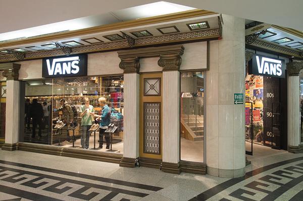 Официальный магазин Vans в Москве