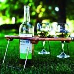 Бамбуковый столик для вина от Mesavino