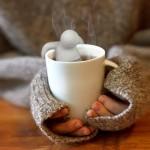 Необычные сита для заварки: Mister Tea и Robot Tea