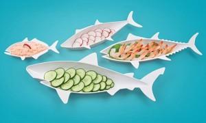 набор-тарелок-в-виде-разных-рыб
