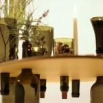Винные бутылки в дизайне интерьера. Идеи от Tati Guimaraes