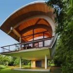 Деревянный дом для гостей Casey Key Guest House
