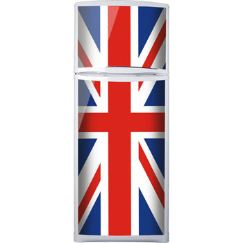 наклейка на холодильник Британский флаг