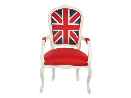 стул с британским флагом купить