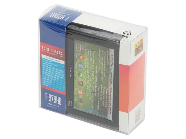 Mp3 плеер с сенсорным экраном Texet T 979HD 4gb