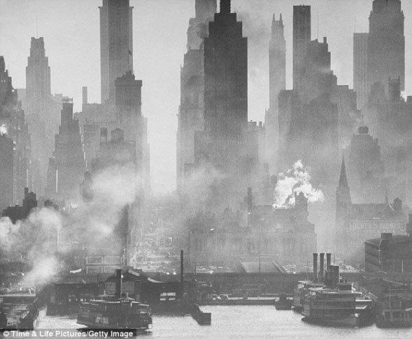 Черно-белые фотографии Нью-Йорка подборка винтажных снимков