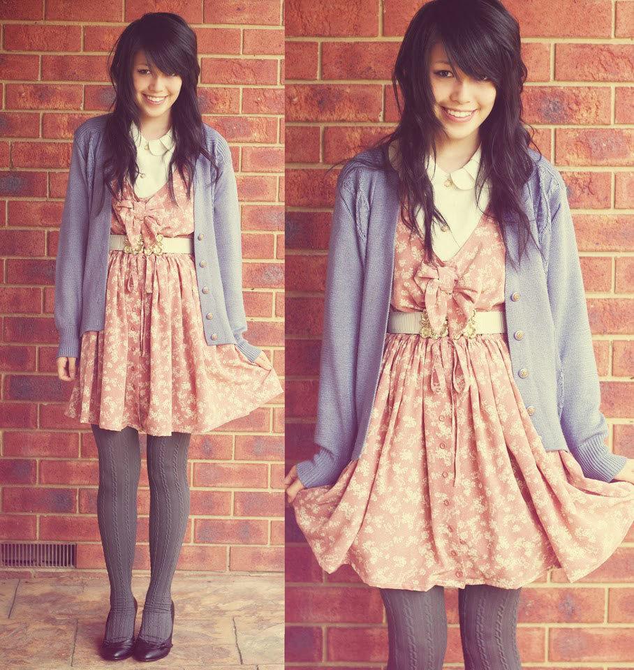 винтажное платье фото