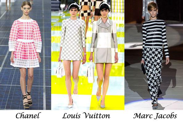 Графические принты в одежде 2013