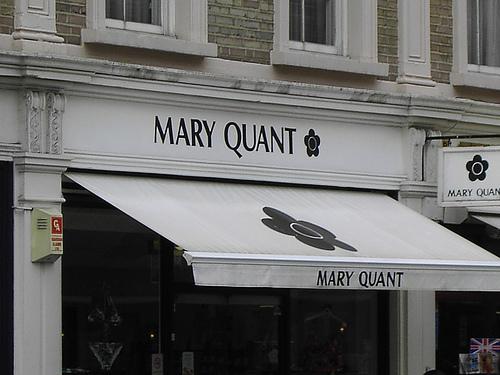 Мэри Куант магазин Базар в Лондоне