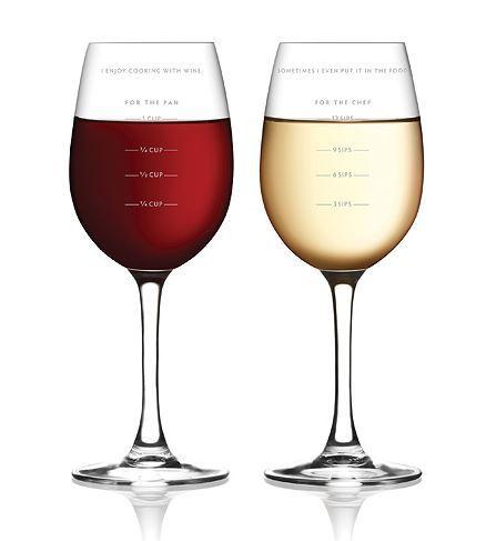 бокалы для вина Fred&Friends