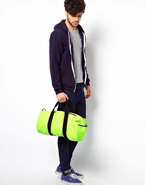Неоновая сумка ASOS