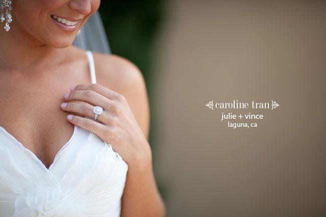 свадьба в фиолетовых тонах от Caroline Tran