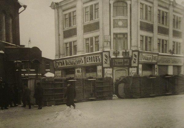 Каланчёвская площадь, декабрь 1905 года