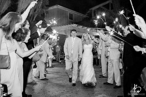 Красивая свадьба во флориде от brooke images