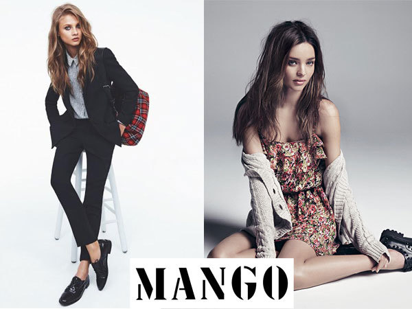 Mango осень 2013