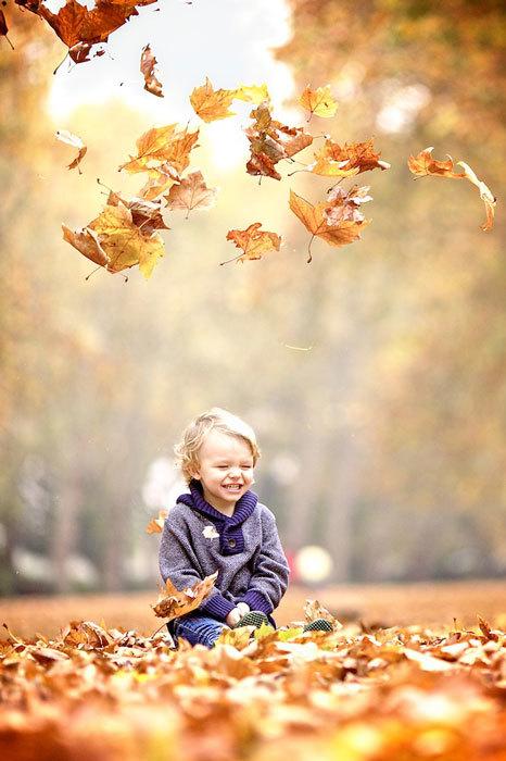 Детская осенняя фотосессия (2)