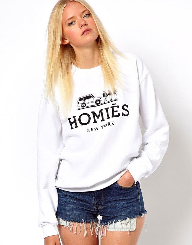 Свитшот Reason Homies