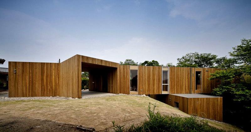 современный японский дом фото