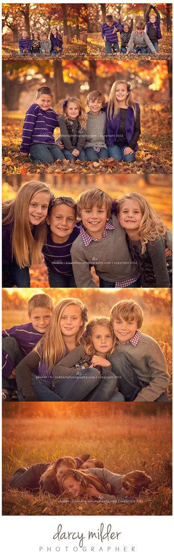 идеи для детской осенней фотосессии (2)