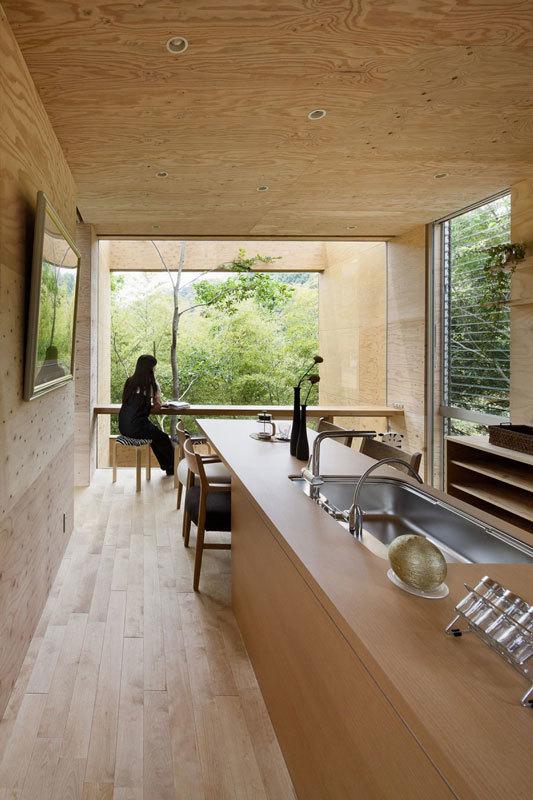 современный японский дом фото (2)