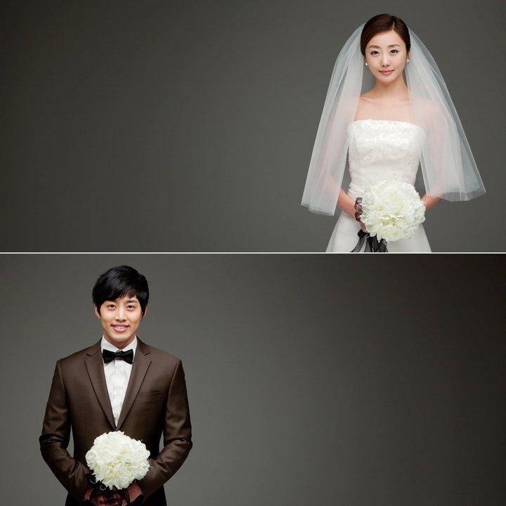 студийная свадебная фотография