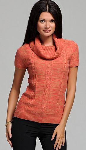 терракотвый свитер Vis-a-vis