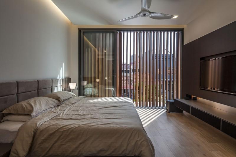 Sunny Side House спальня (1)