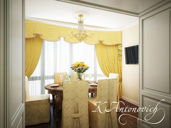 Квартира в ЖК Айвазовский. Элитный дизайн интерьера (1)
