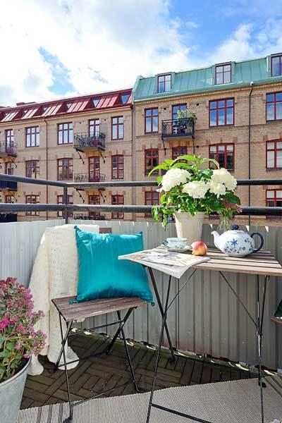 Современная квартира. Швеция (6)