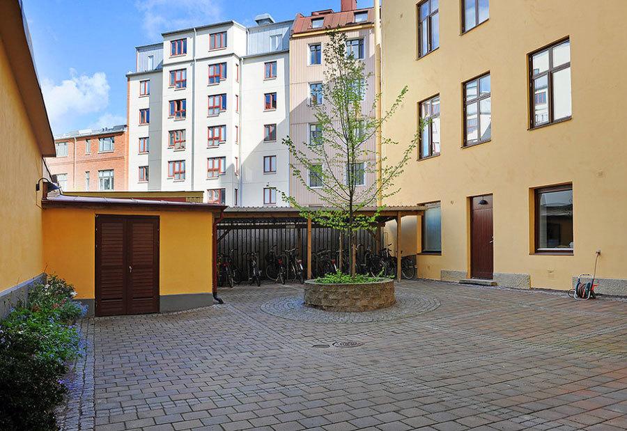 Современная квартира. Швеция (7)