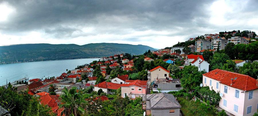 Херцег Нови, красивый пейзаж