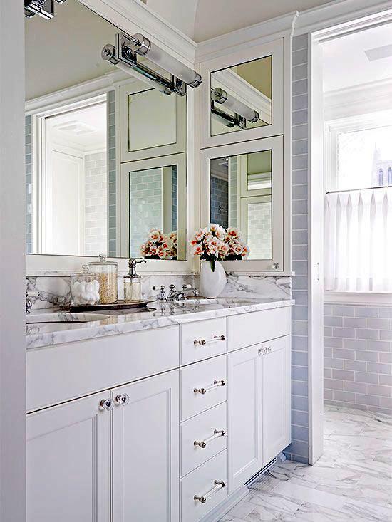 зеркала в интерьере ванной фото (2)