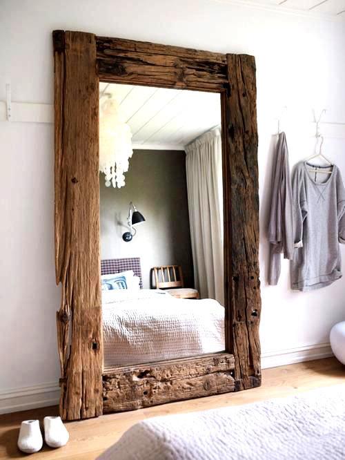 зеркала в интерьере спальни (2)