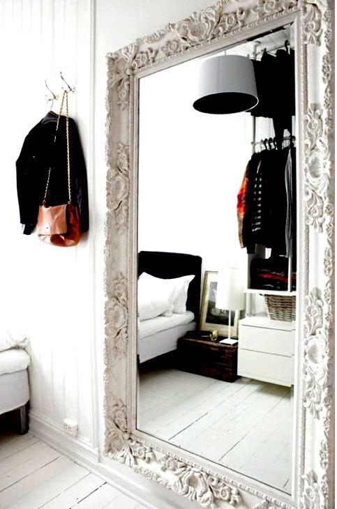 зеркала в интерьере спальни (3)