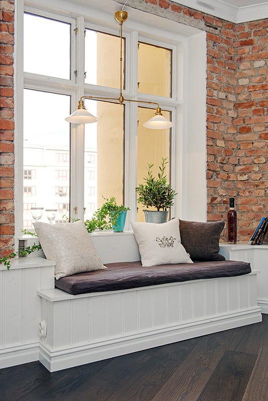 шведский интерьер элегантная квартира (2)