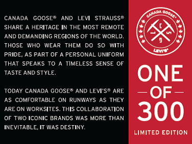 Levi's® x Canada Goose® Limited Edition (1)