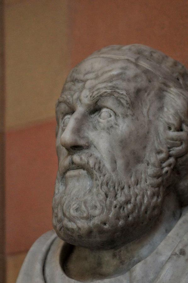 Гомер в Храме Зевса