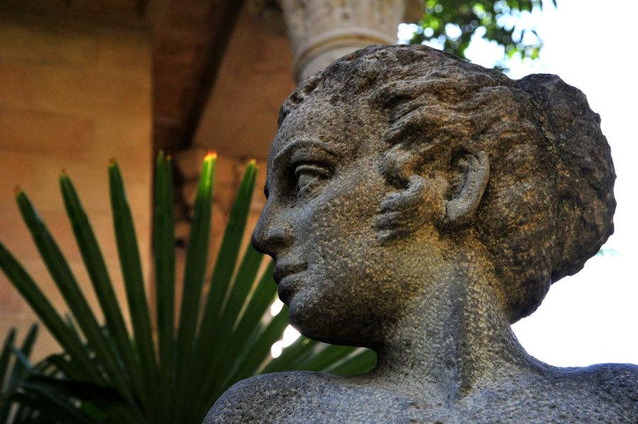 Греческий профиль Красавицы Афродиты