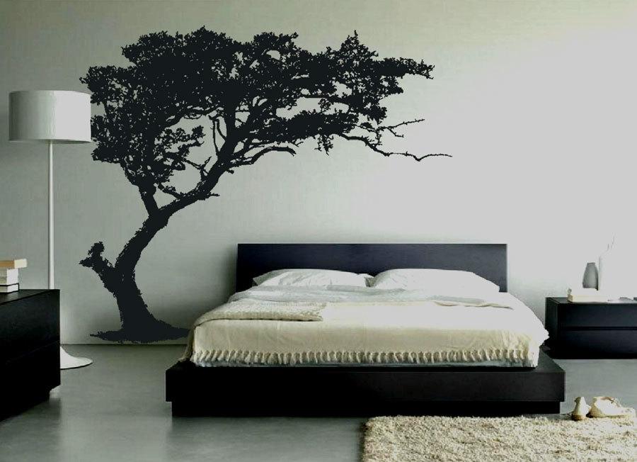 Декоративные наклейки на стены в спальню (2)
