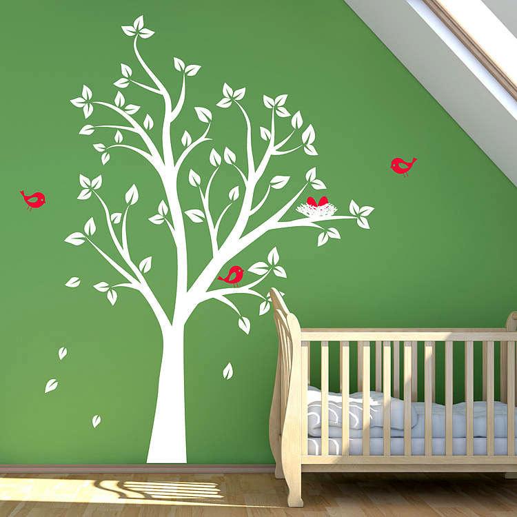стикеры на стену в детскую