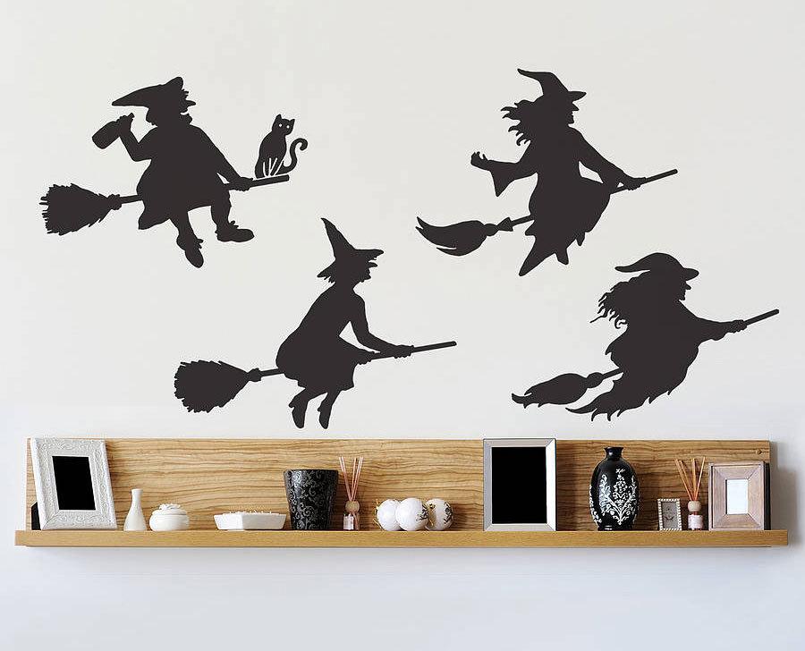 """Наклейки на стену """"Хеллоуин""""."""