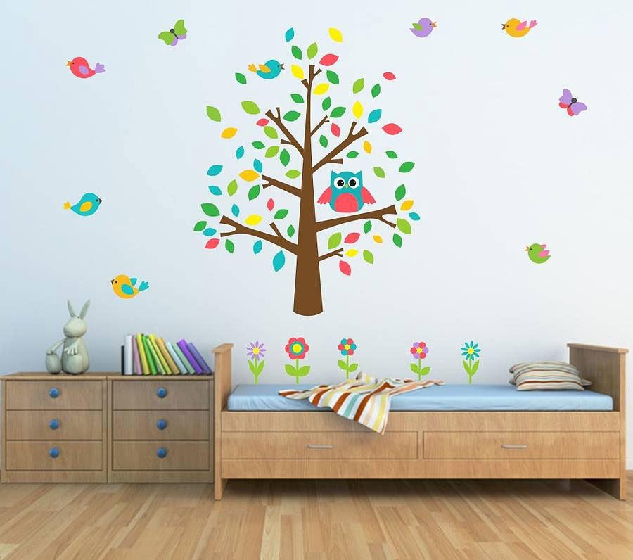 Детские наклейки на стену (6)