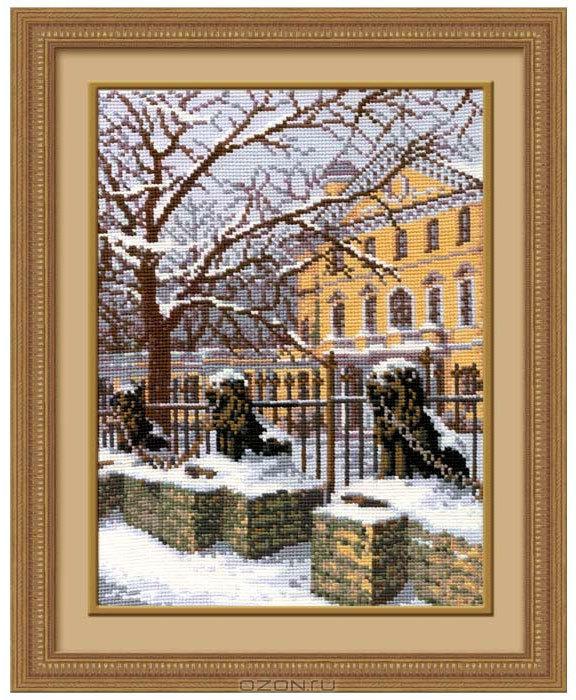 Набор для вышивания Зимний Петербург